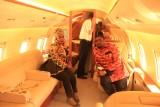 Kassié en Jet privé