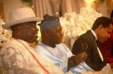 Avec l'ancien président Nigérian Olusegun Obasanjo
