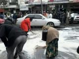 On lave la route pour que Owuor y passe