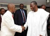 David Oyedepo et l'ancien président du Nigéria