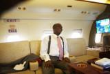 D. Oyedepo dans son jet privé