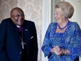 Desmond et la Reine Beatrix (Hollande)