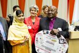 Tutu et Malala Yousafzai