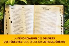 Étude biblique du livre du prophète Jérémie