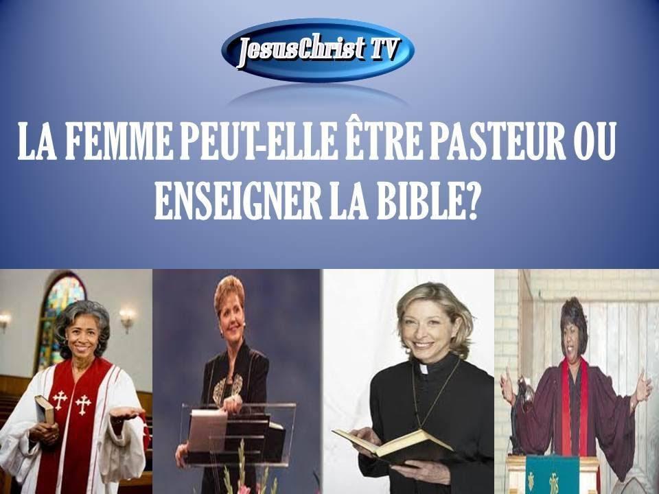 La femme peut-elle être pasteur