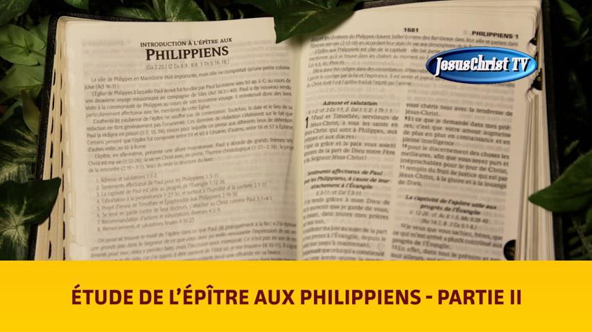 Étude Biblique Philippiens 2
