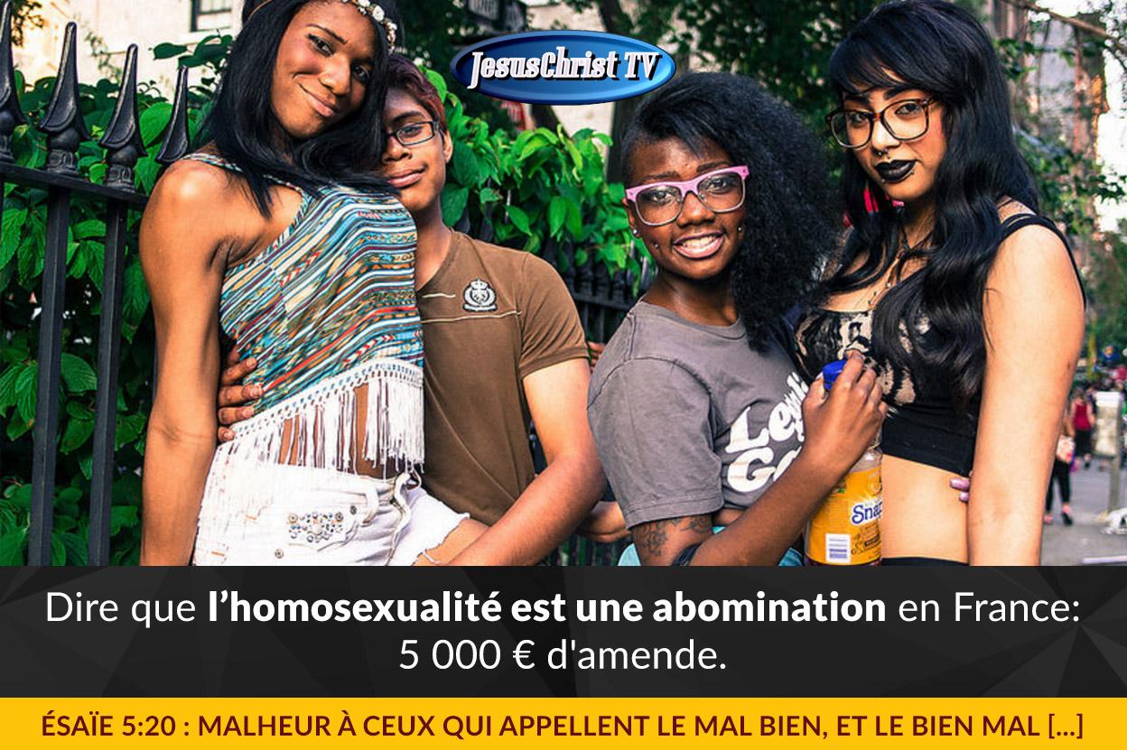 Lesbienne - France
