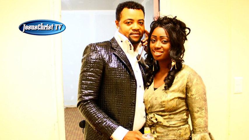 Lise Manzambi et son mari Blaise