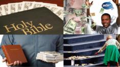 la DÎME Biblique n'était pas l'argent mais les aliments